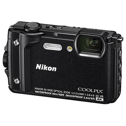 Nikon COOLPIX W300 Digital Camera (Black)