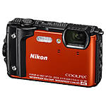 Nikon COOLPIX W300 Digital Camera (Orange)