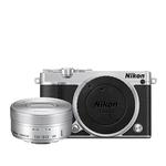 Nikon 1 J5 Mirrorless Digital Camera with 10-30mm Lens - Silver