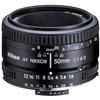 Nikon AF Nikkor 50mm f/1.8D Prime Lens - Black