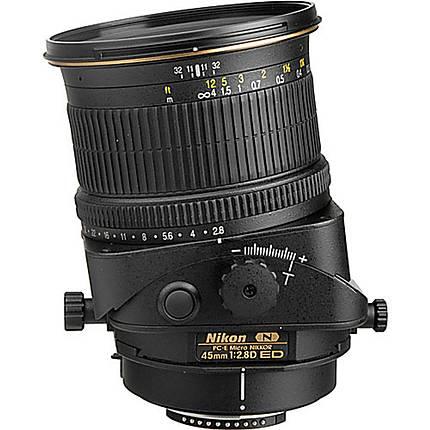 Nikon PC-E Micro Nikkor 45mm f/2.8D ED Standard Lens - Black