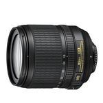 Nikon AF-S DX Nikkor 18-105mm f/3.5-5.6G ED VR Telephoto Lens - Black