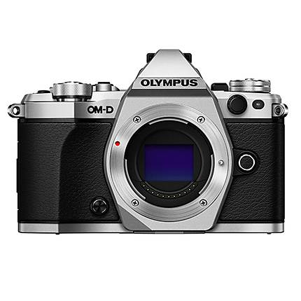 Olympus OM-D E-M5 Mark II Mirrorless Micro 4/3 Digital Camera Body - Silver