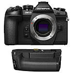 Olympus OM-D E-M1 Mark II Mirrorless 4/3 Camera with HLD-9 Battery Grip