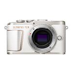 Olympus PEN E-PL10 Mirrorless Micro 4/3 Digital Camera (White, Body Only)