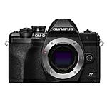 Olympus OM-D E-M10 Mark IV Mirrorless Micro 4/3 Camera (Body Only, Black)