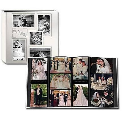 Pioneer 4 X 6 In Collage Embossed Wedding Photo Album 240 Photos Albums Pioneer At Unique Photo