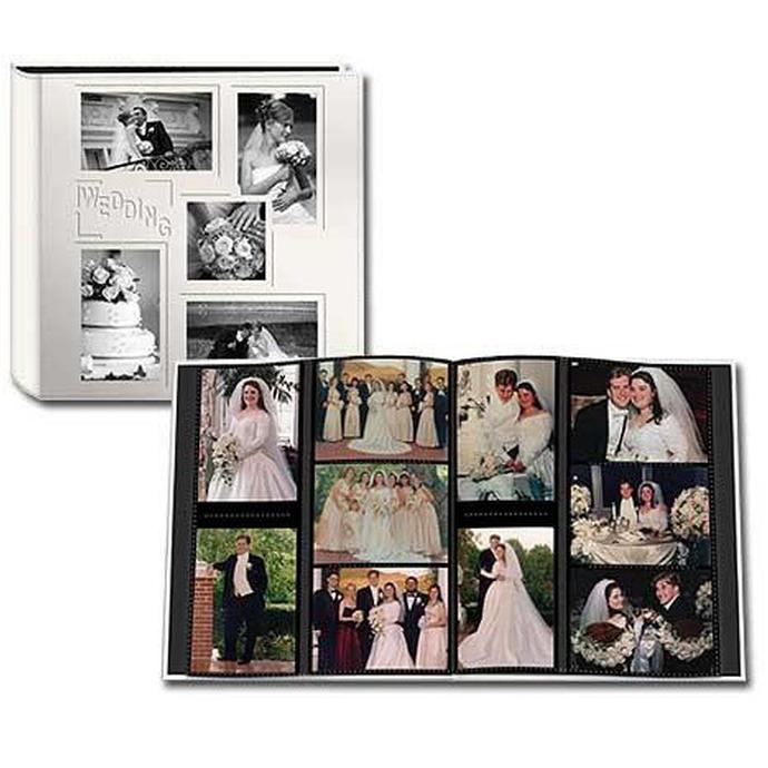 Collage Embossed Wedding Photo Al