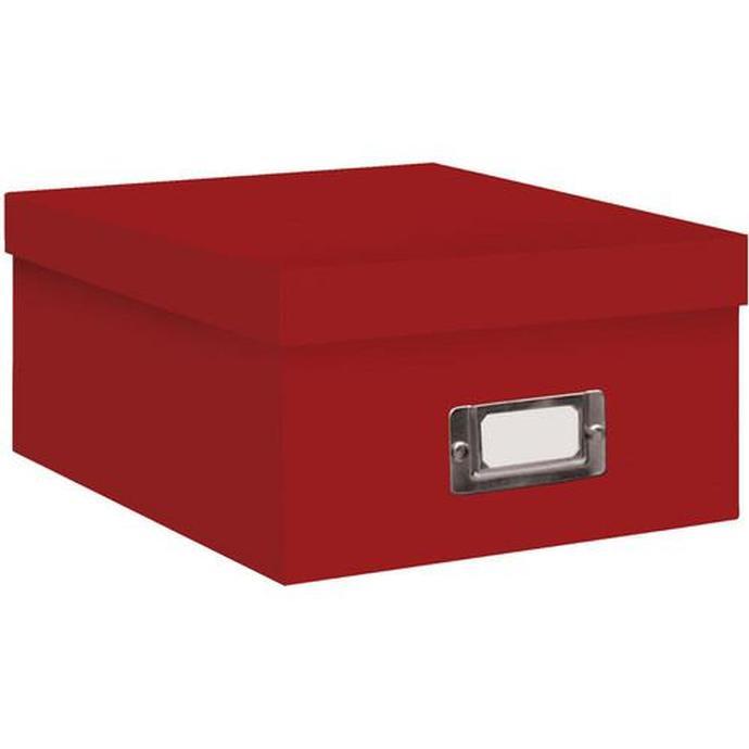 Pioneer Photo Albums 4x7 Photo Storage Box - Red  sc 1 st  Unique Photo & Pioneer Photo Albums 4x7 Photo Storage Box - Red | Storage | Pioneer ...