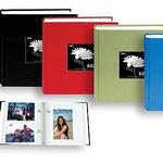 Pioneer 4 x 6 In. Cloth Frame Photo Album (200 Photos) - Assorted 4 Pack