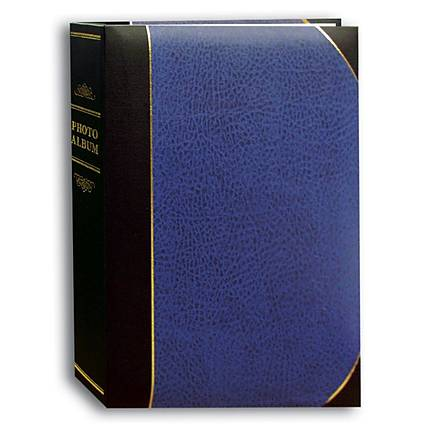 Pioneer 4 x 6 In. Ledger Bi-Directional Photo Album (300 Photos) - Navy Blue