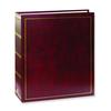 Pioneer Solid Cover Magnetic 3 Ring Photo Album (100 Photos) - Burgundy