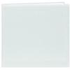 Pioneer 12 x 12 In. Top Loading Leatherette Cover Scrapbook - White