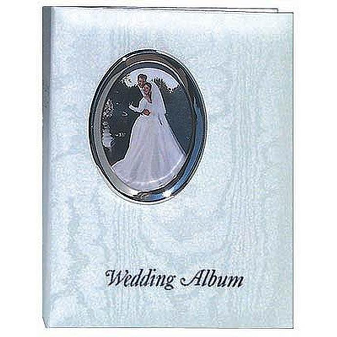 pioneer 4 x 6 in oval framed wedding memo album 200 photos