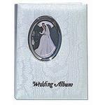 Pioneer 4 x 6 In. Oval Framed Wedding Memo Album (100 Photos)