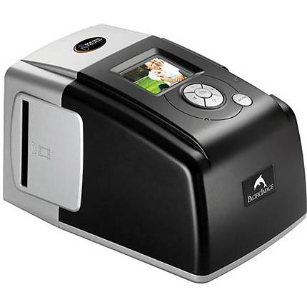 Pacific Image Memor-Ease ST 35mm Film and Slide Scanner (Black  and  Silver)