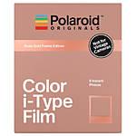 Polaroid Color Film for i-Type Rose Gold Frame