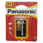 Panasonic Alkaline Plus 9V Battery 1 Pack
