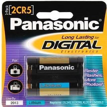 Panasonic 2CR5 Lithium Battery 6v