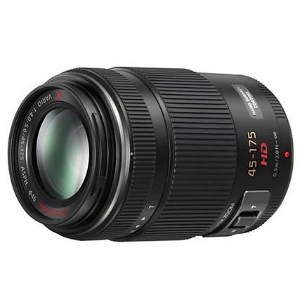 Panasonic Lumix G X Vario PZ 45-175mm f/4.0-5.6 Telephoto Lens - Black