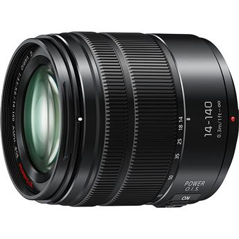 Panasonic Lumix G Vario 14-140mm f/3.5-5.6 ASPH. POWER O.I.S. Lens Matte BK