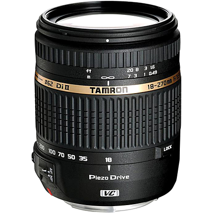 Tamron 18-270mm F3.5-6.3 AF Di II VC PZD For Canon EOS