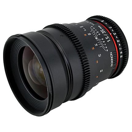 Rokinon 35mm T1.5 Cine AS UMC Lens for Nikon F Mount