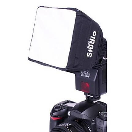 RPS Pop-Up 3.5 x 3.5 Inch Softbox For Shoe Mounted Flashes