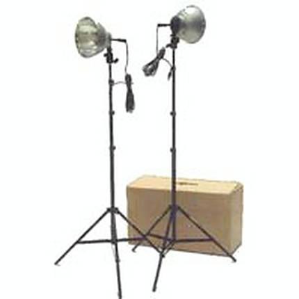 RPS 1000 Watt Tungsten (2) 10 Inch Reflector Portable 2 Light Kit