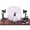 RPS Studio Desktop Studio 20 x 20 Inch Tent with Lights, Stands  and  Tripod