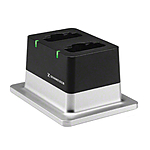 Sennheiser CHG 2 2-Bay Table Top Charger w/ US Power Supply for D1Series