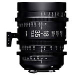 Sigma 18-35mm T2 High-Speed Zoom Lens (Sony E)