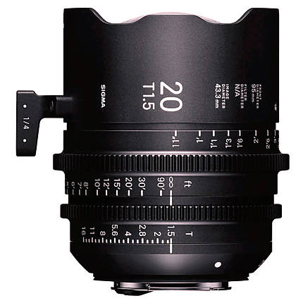 Sigma 20mm T1.5 FF High-Speed Prime Lens (Sony E)