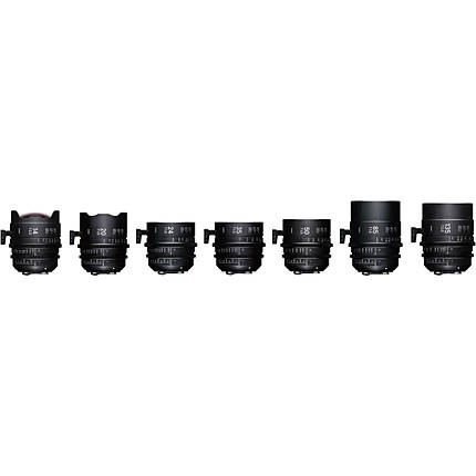 Sigma T2/T1.5 FF 7 Lens Kit with Case (Canon EF)
