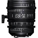 Sigma 24-35mm T2.2 Fully Luminous FF Zoom Lens (Canon EF)