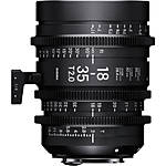 Sigma 18-35mm T2 Fully Luminous High-Speed Zoom Lens (Sony E, Metric)