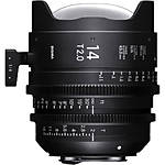Sigma 14mm T2 Fully Luminous FF High-Speed Prime Lens (Sony E, Metric)