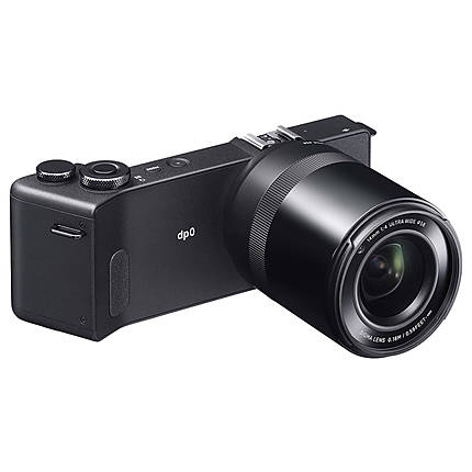 Sigma dp0 Quattro Digital Camera with LVF-01 LCD Viewfinder Kit