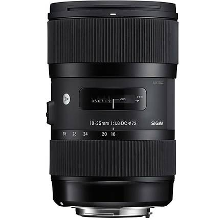 Sigma DC HSM ART 18-35mm f/1.8 Standard Zoom Lens for Canon EF