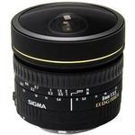 Sigma EX DG Circular 8mm f/3.5 Fisheye Lens for Canon Mount - Black