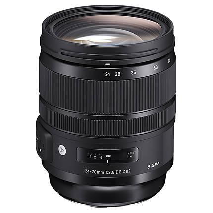 Sigma AF 24-70mm f/2.8 DG OS HSM Art Lens for Nikon F
