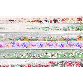 Savage 53X18 Printed Background - Vintage Floral