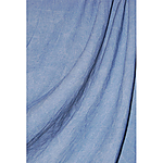 Savage 10x24 Accent Washed Muslin Reversible (Blue)