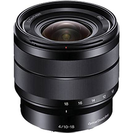 Sony 10-18mm f/4 OSS E-Mount Wide Zoom Lens