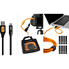 Tether Tools Starter Tether Kit w/ USB 3.0 to USB-C 15ft / 4.6m Black