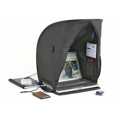 Think Tank Photo Pixel Sunscreen V 2.0 (Black) w/Hood and Storage Bag