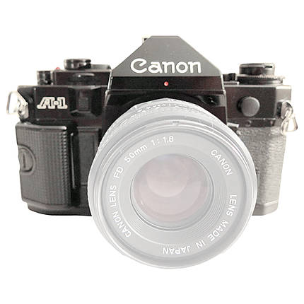 Used Canon A-1 Film 35MM Film SLR [F] - Excellent