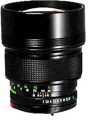Used Canon 135MM F/2 FD Mount Lens [L] - Excellent