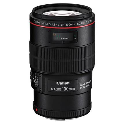 Used Canon 100mm F/2.8L Macro IS USM Lens - Excellent