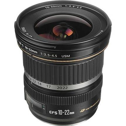Used Canon EF-S 10-22mm f/3.5-4.5 USM - Excellent
